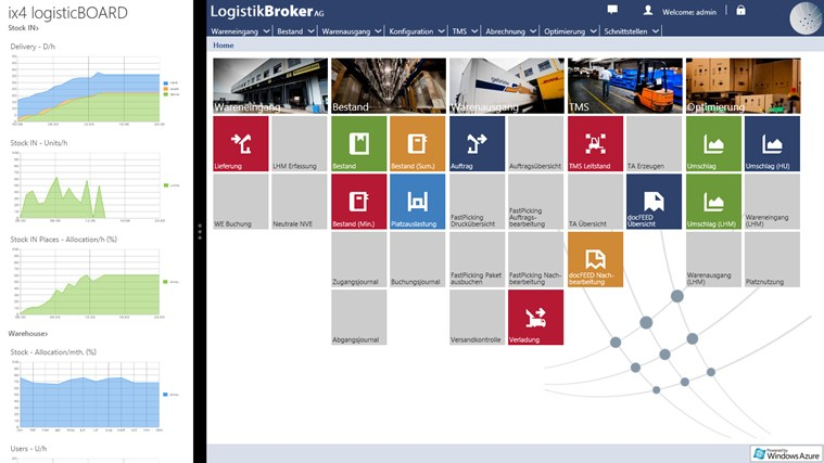 ix4 logisticBOARD screen shot 3