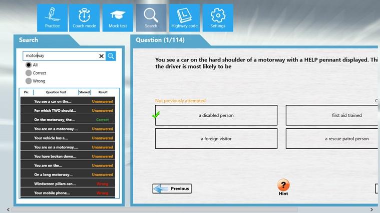 PCV Theory Test cattura di schermata 5