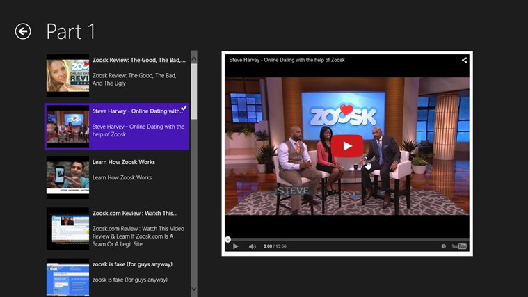 how to delete zoosk from app