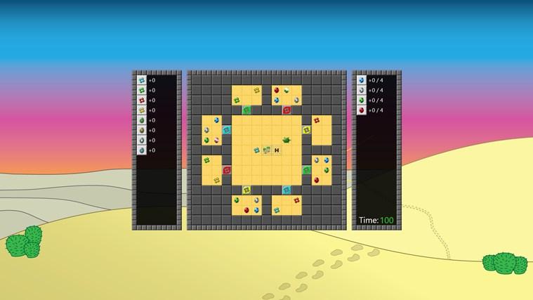 Desert Quest screen shot 1
