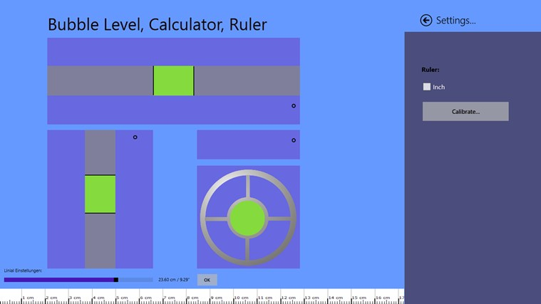 Bubble Level, Calculator, Ruler snimak ekrana 1