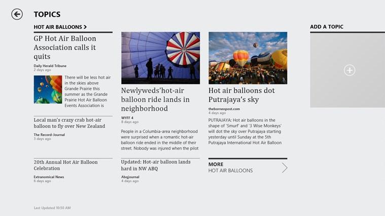 Bing News screen shot 7