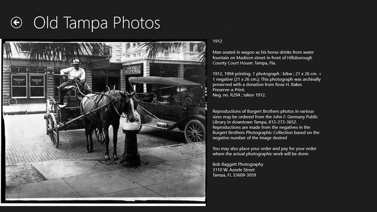 Old Tampa Photos screen shot 1