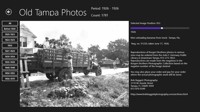 Old Tampa Photos screen shot 5