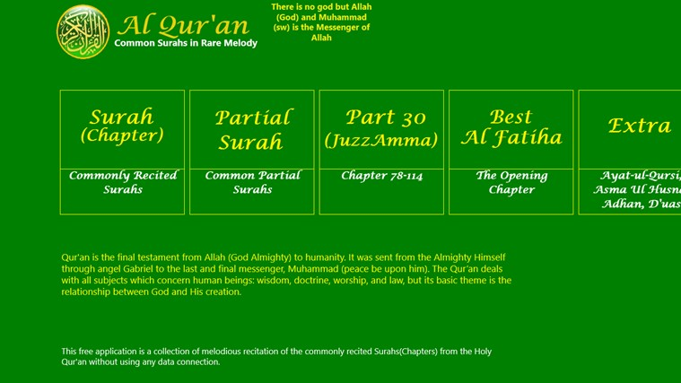 Al Quran screenshot 1
