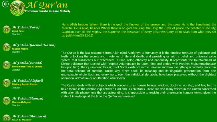 Al Quran snímek obrazovky 7