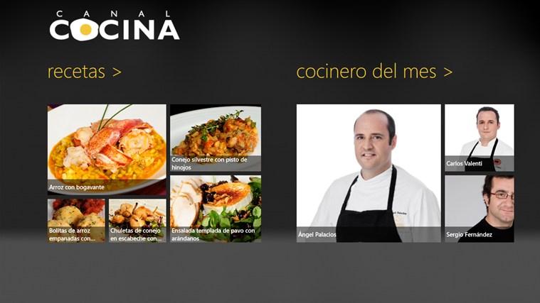 Canal Cocina captura de pantalla 1