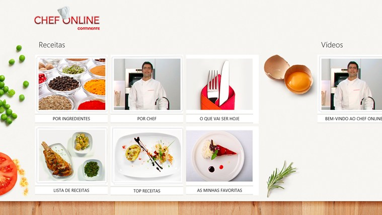 Chef Online captura de ecrã 1