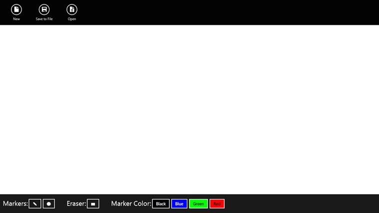 Digital Whiteboard screen shot 1