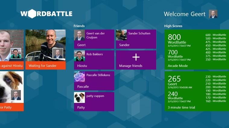 WordBattle schermafbeelding 3