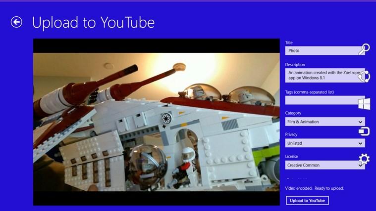 Zoetrope screen shot 5