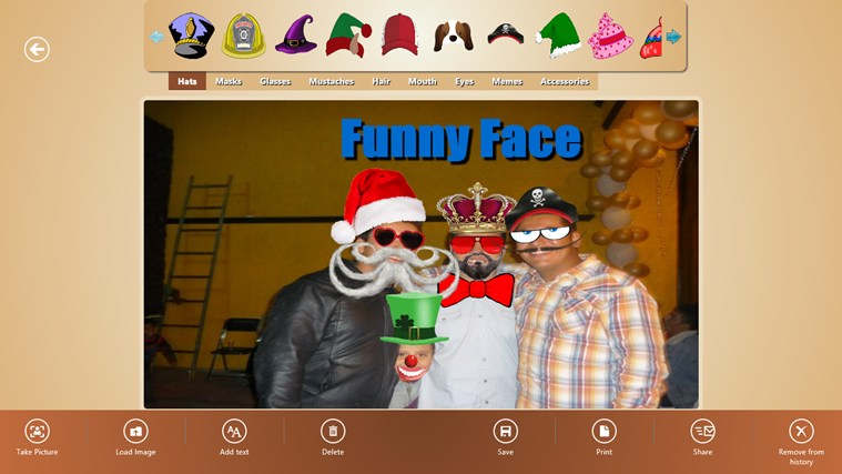 Funny Face screenshot 1