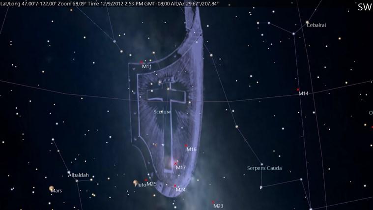SkyMap - Second Screenshot