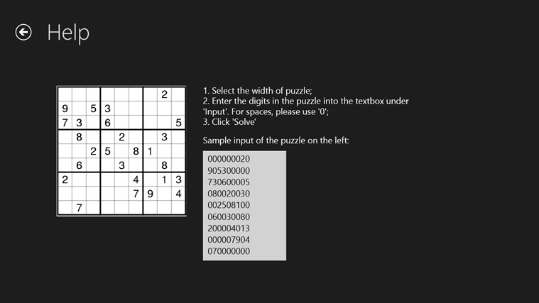 Sudoku X Solver by Yau Hing Yiu screen shot 1