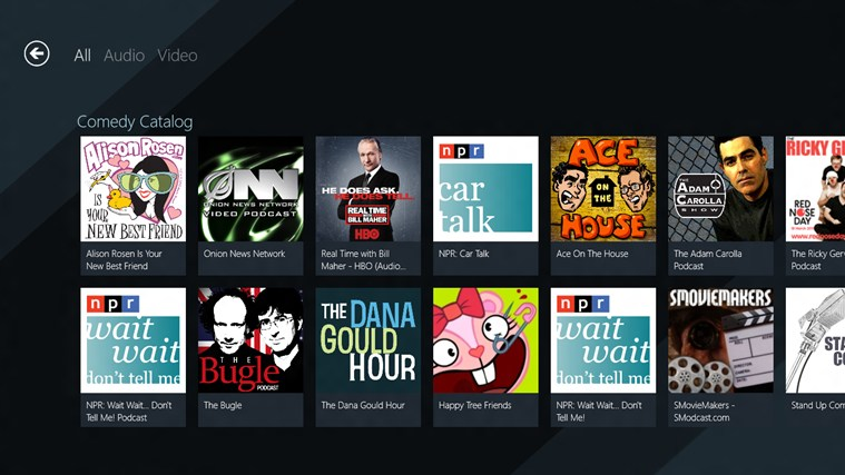 SlapDash Podcasts screen shot 3