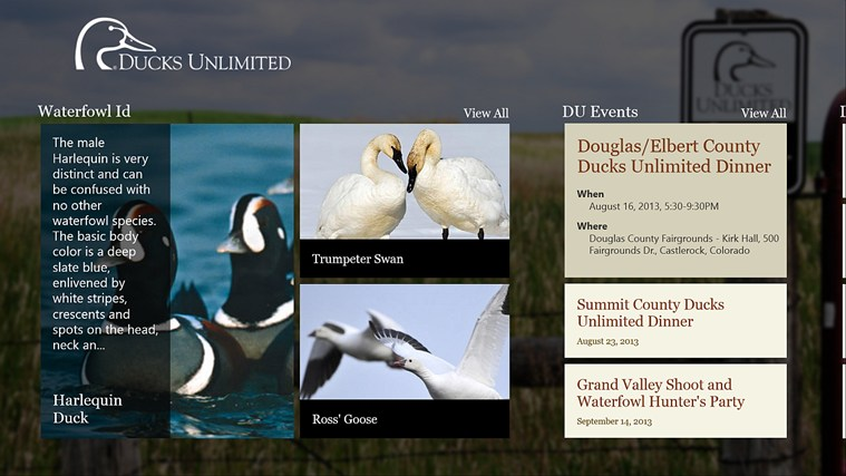 Ducks Unlimited screen shot 1