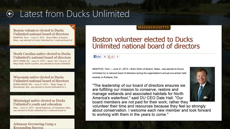 Ducks Unlimited screen shot 7