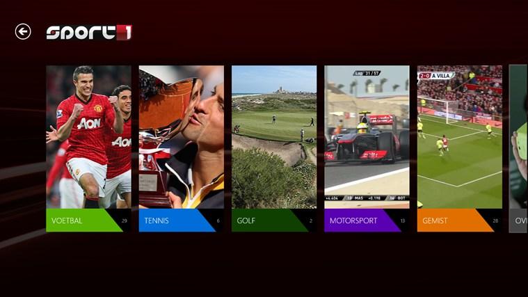 Sport1 schermafbeelding 3
