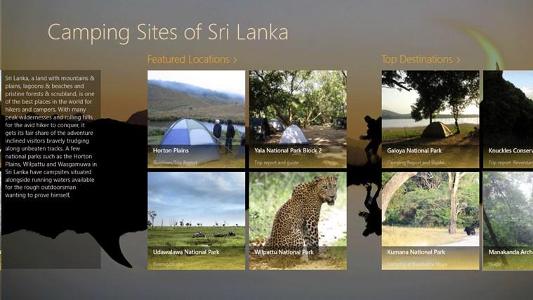 Camping in Sri Lanka seswantšho sa sekrini 1