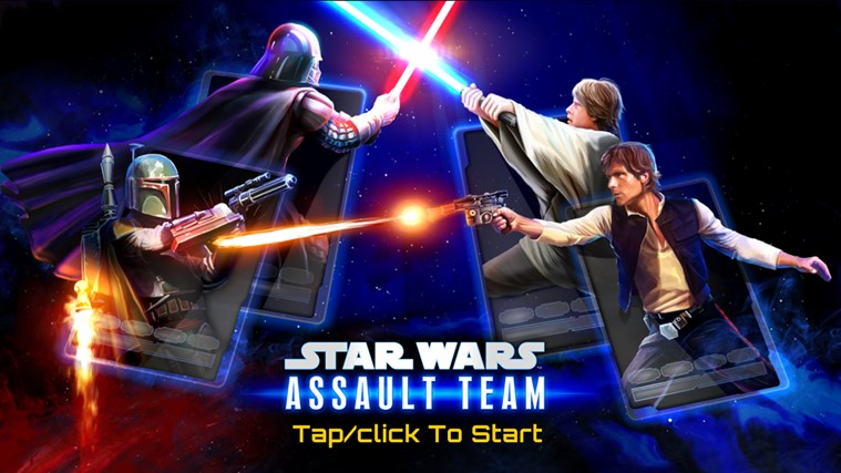 Star Wars: Assault Team screen shot 1