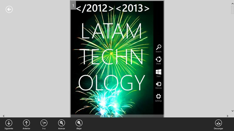 Revista LATAM Technology screen shot 1