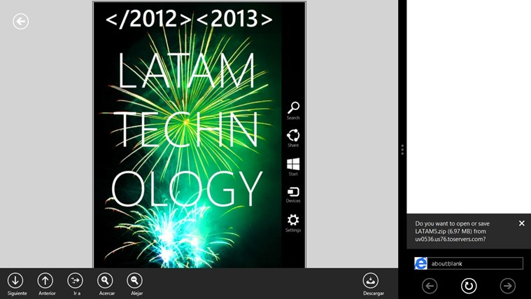 Revista LATAM Technology screen shot 3