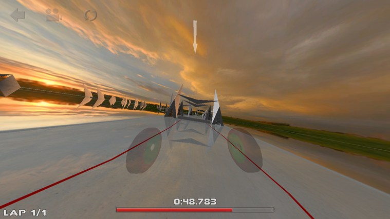 3D Car Race screen shot 3
