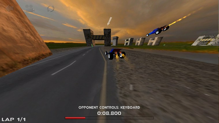 3D Car Race screen shot 5