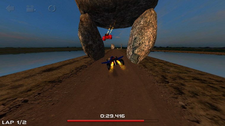 3D Car Race screen shot 7
