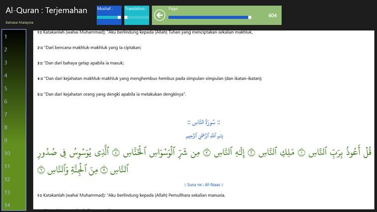 Terjemahan Al Quran Bahasa Melayu