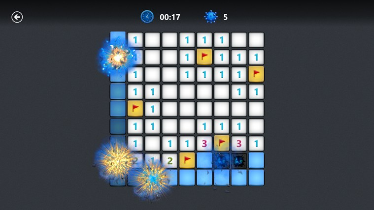 Microsoft Minesweeper screen shot 1