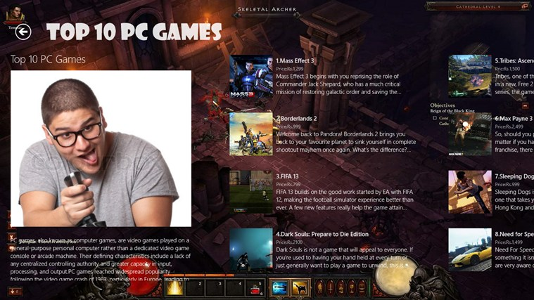 Top 10 PC Games 2013 screen shot 1