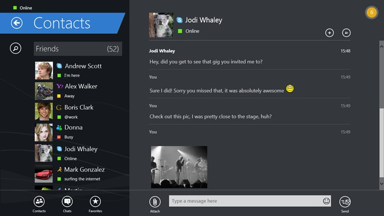 IM+ Instant Messenger screen shot 5