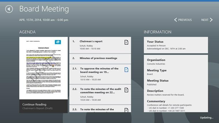 BoardPad screen shot 3