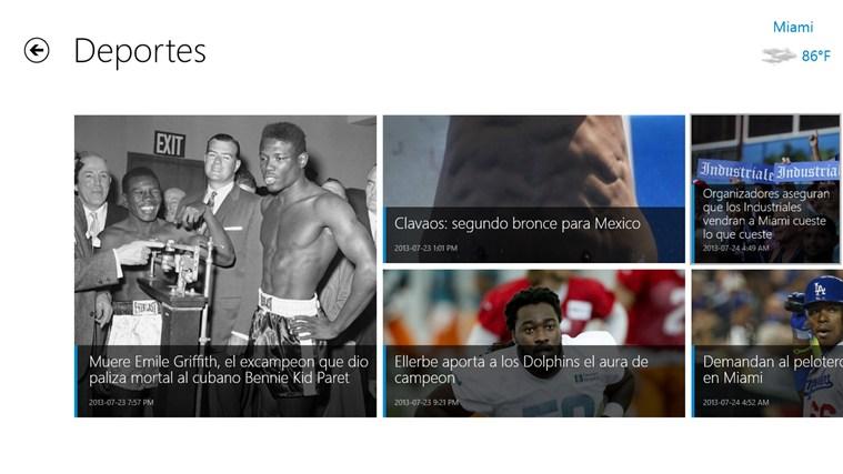 el Nuevo Herald screen shot 3