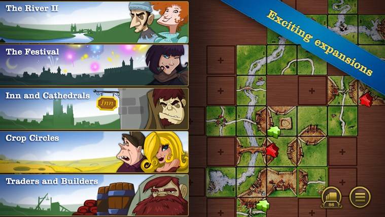 Carcassonne screen shot 7