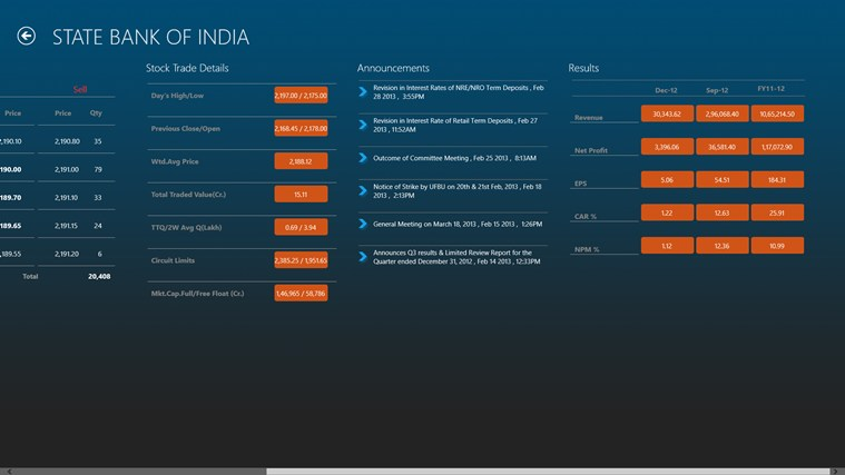 BSEindia screen shot 3