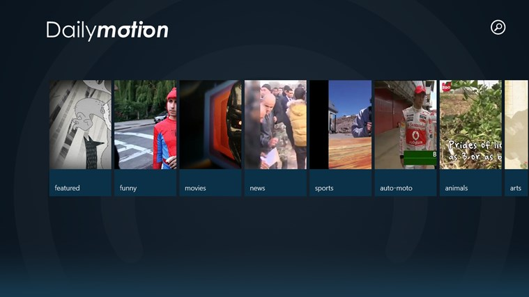Dailymotion screen shot 1