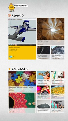 Instructables. screen shot 7
