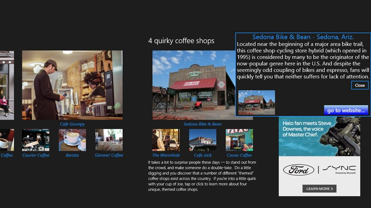 Best Coffee Shops screen shot 7