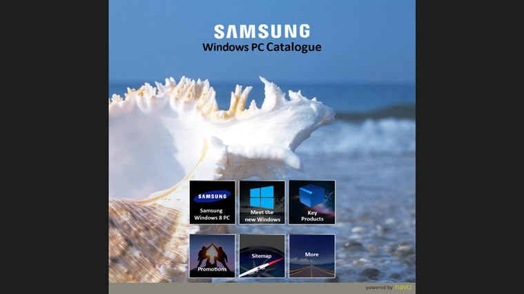 Samsung Windows PC Catalogue screenshot 1
