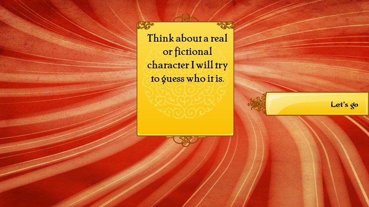 Akinator screen shot 1