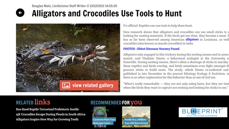 Discovery News screen shot 3