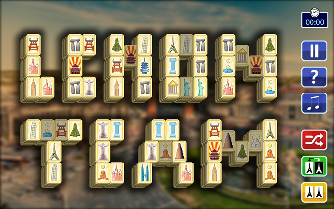 Mahjong Travel screen shot 3