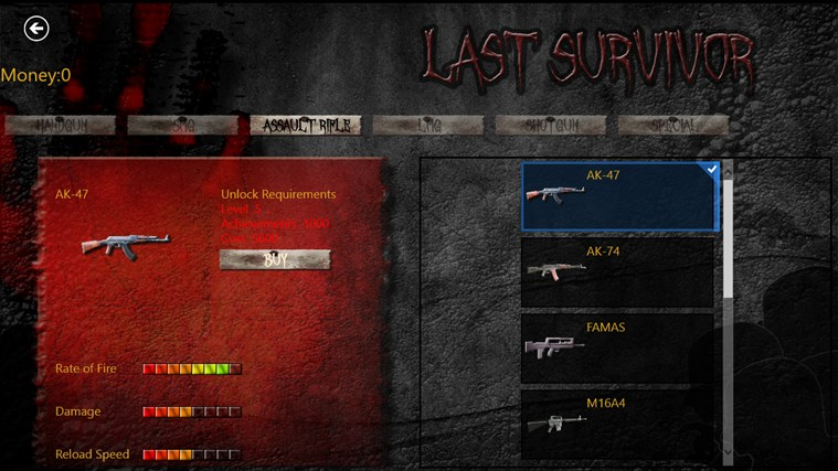 Zombies: Last Survivor screen shot 3