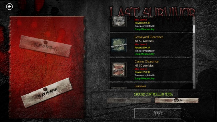 Zombies: Last Survivor screen shot 5