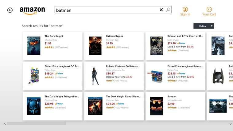 Amazon screen shot 3