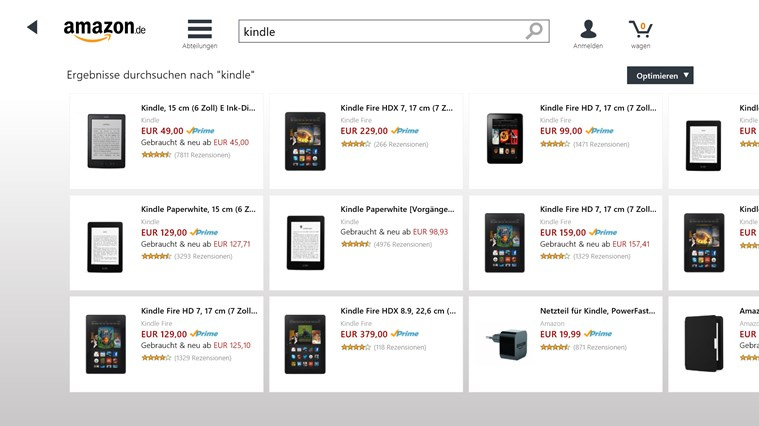 Amazon Screenshot 3