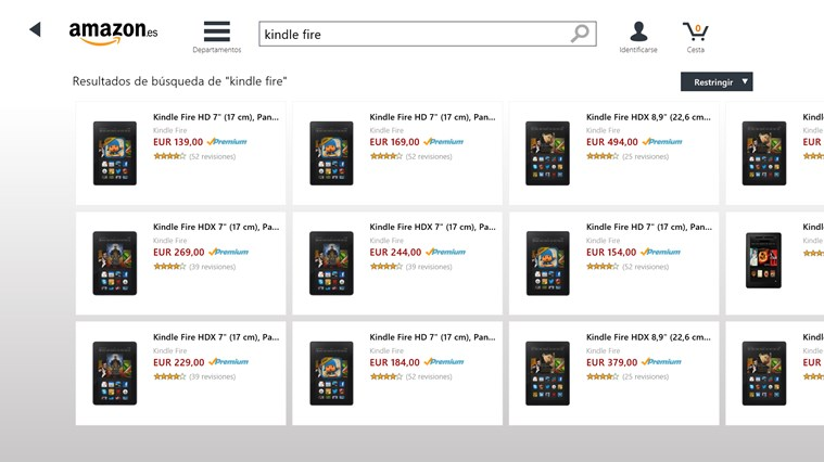 Amazon captura de pantalla 3