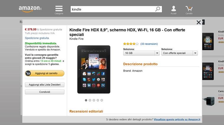 Amazon cattura di schermata 1
